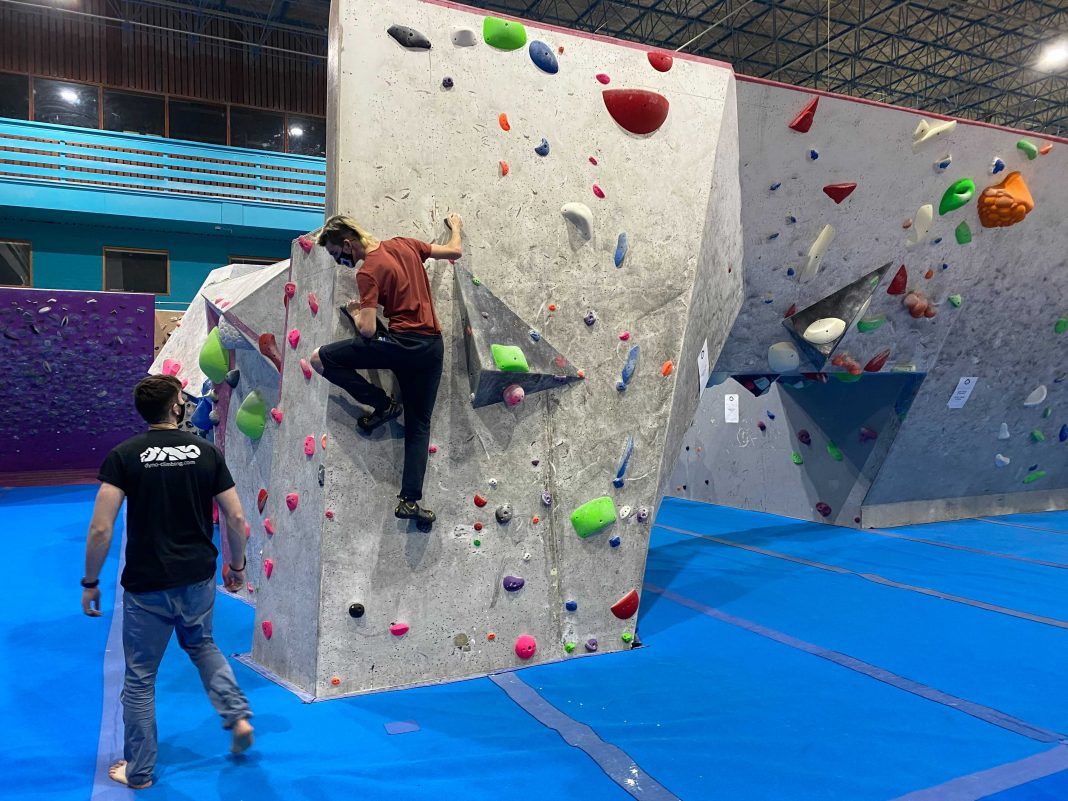 dyno climbing